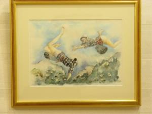 海女さんの絵です。えつこ作