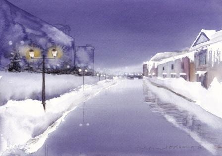1303冬の小樽運河
