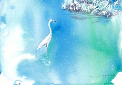 1601川辺の鳥