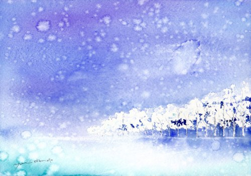 1601雪景色