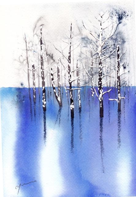 1602青い池