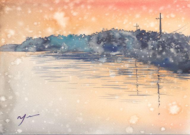 1712朝の雪