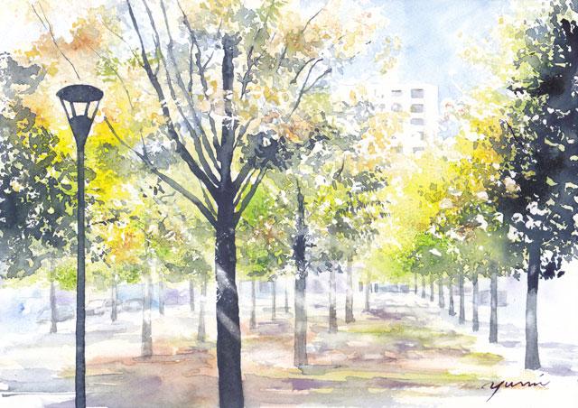 1809ザルツブルクの木立