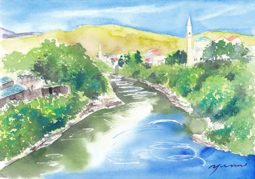 1809ボスニア・ヘルツェゴビナ モスタル