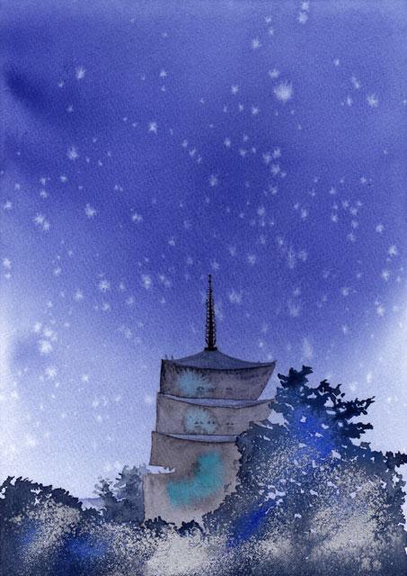 1911奈良興福寺五重塔
